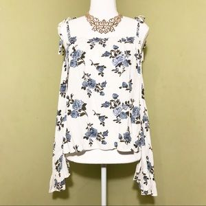 American Eagle Outfitters paisley top XL